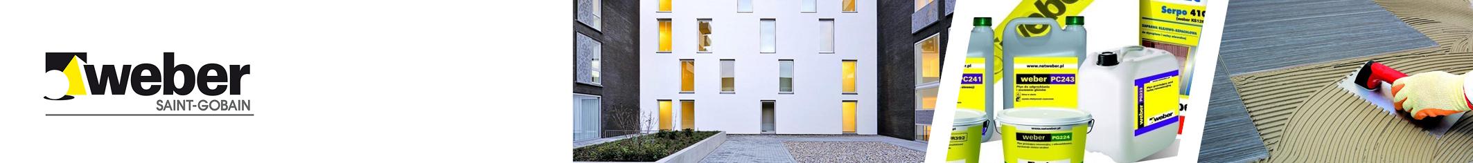 WEBER elewacja (systemów ociepleń, tynków dekoracyjnych, farb)w OCMB Olsztyn
